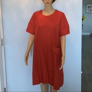 New COS 100% cotton casual dress